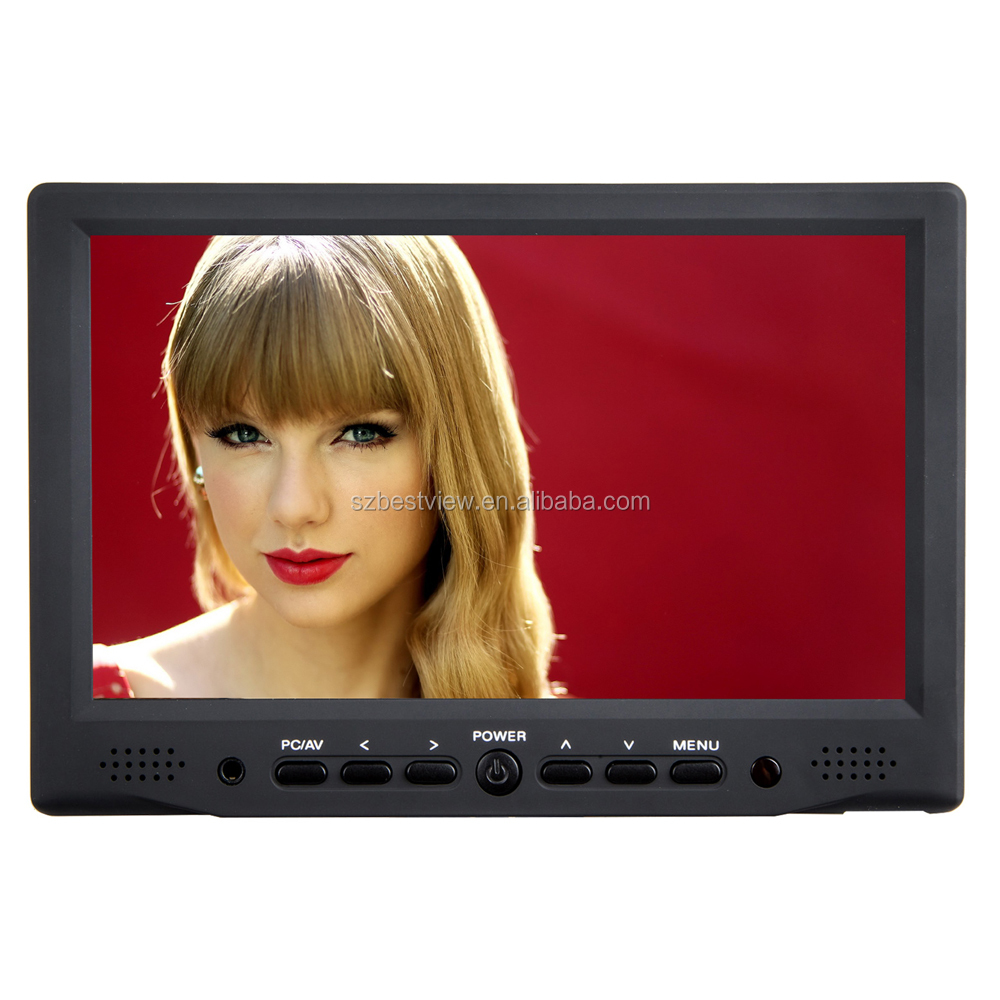 800*480 7 inch LCD boadcast monitor with HDMI interface dedicated for video camera