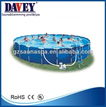 2014 high quality above ground plastic swimming pool buy for High quality above ground pools