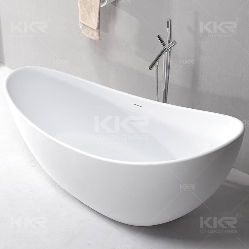 Solid Surface Comfortable Round Standing Baby Bathroom Bath Tubs ...