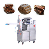 HANJUE fully-automatic Small size dates bar extruder dates bar cutting machine protein bar making machine