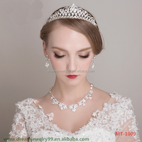 Retro popular diamond tiara to India bride wedding hot sale