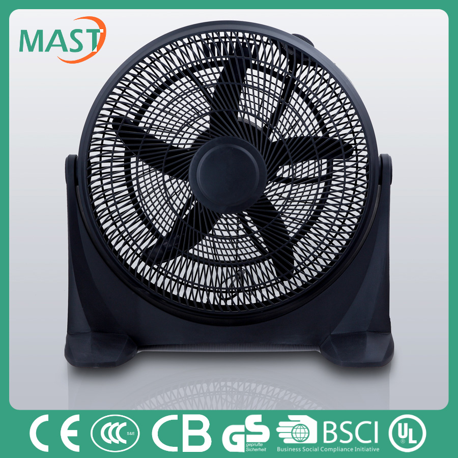 20 inches portable Min Box Fan with 3-Speed Adjustable Fan 2-Hrs Timer