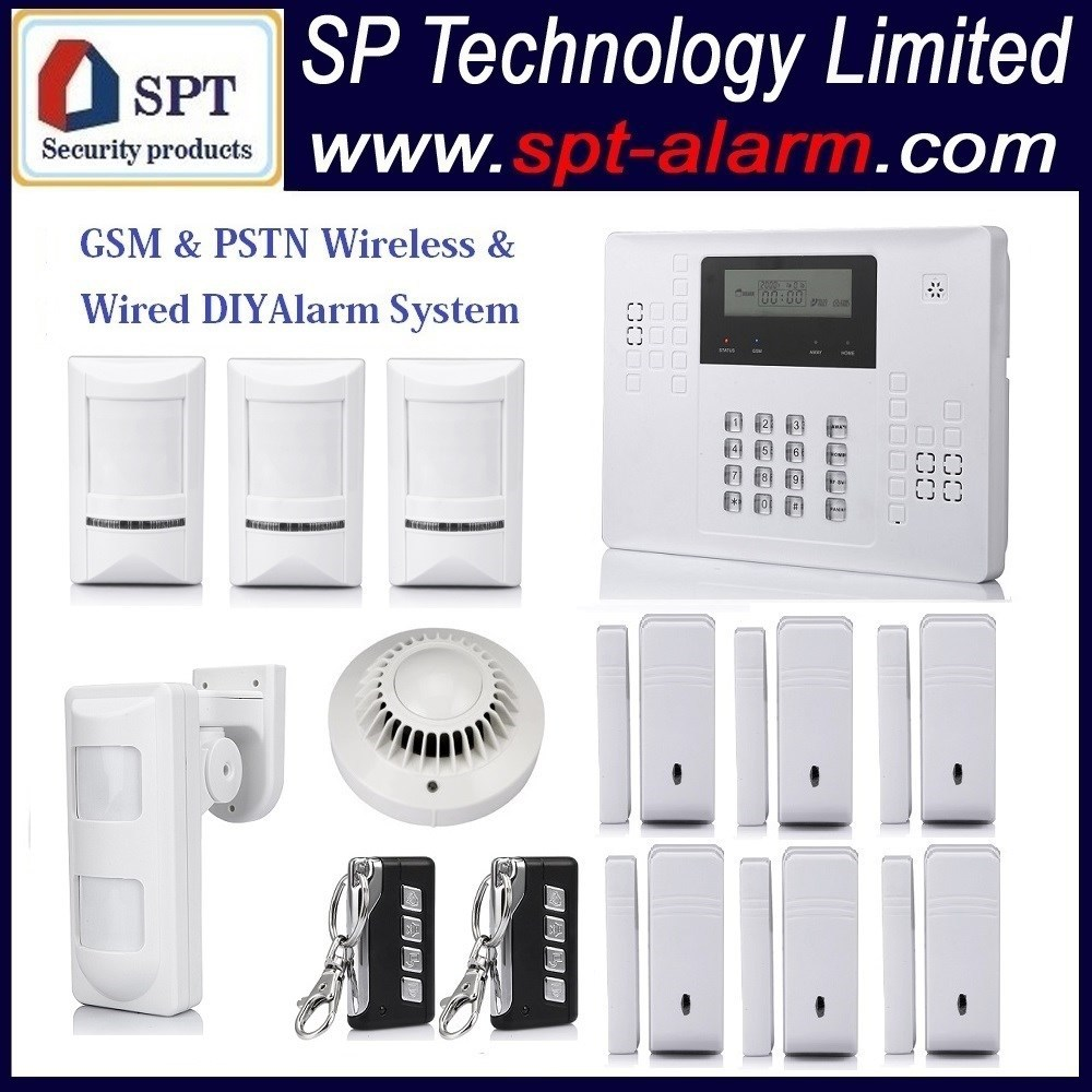 CP-21A wireless home intruder alert alarm system, gate sensor