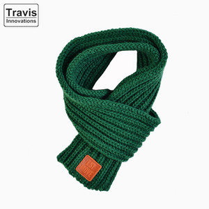 Toddlers Kids Boys Girls Winter Knitted Neck Warmer Acrylic Scarves