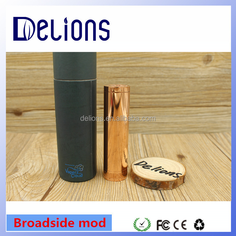 2017 Alibaba good clone broadside mod/Broadside mechmod 1:1 clone high quality by Delions tech at low price