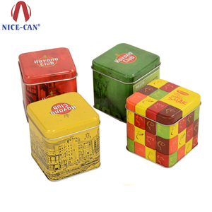 Nice-can Wholesale Promotion Colorful Children Favor Empty Candy Tin Box With Lid