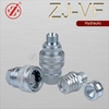 ZJ-VF steel hydraulic quick coupling for hyraulic manchine tools