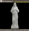 Church Religious White Marble Jesus Christ Statue