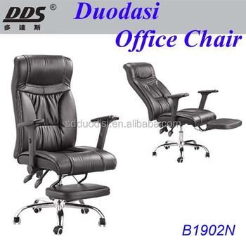 Bureaustoel Met Voetsteun.De Nieuwste Bureaustoel Ontwerpen Modern Design Lederen Liggende