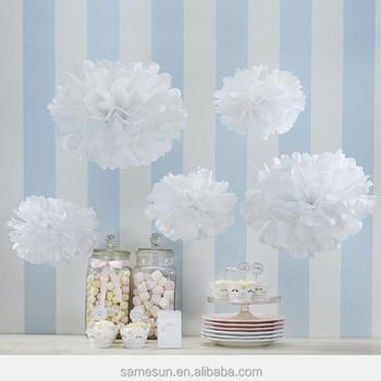 Wholesale white tissue paper flower balls for wedding decoration wholesale white tissue paper flower balls for wedding decoration mightylinksfo