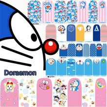 12 Style Cute Doraemon Child Nail Art Sticker Patch 14 pcs/Set High Quailty Foils Decals Polish Gel Manicure Beauty Makeup Tools