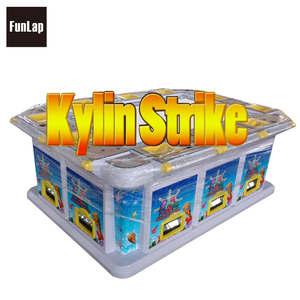 100% same program as tiger strike Fishing Game Machine USA English Version kylin strike 30% holding