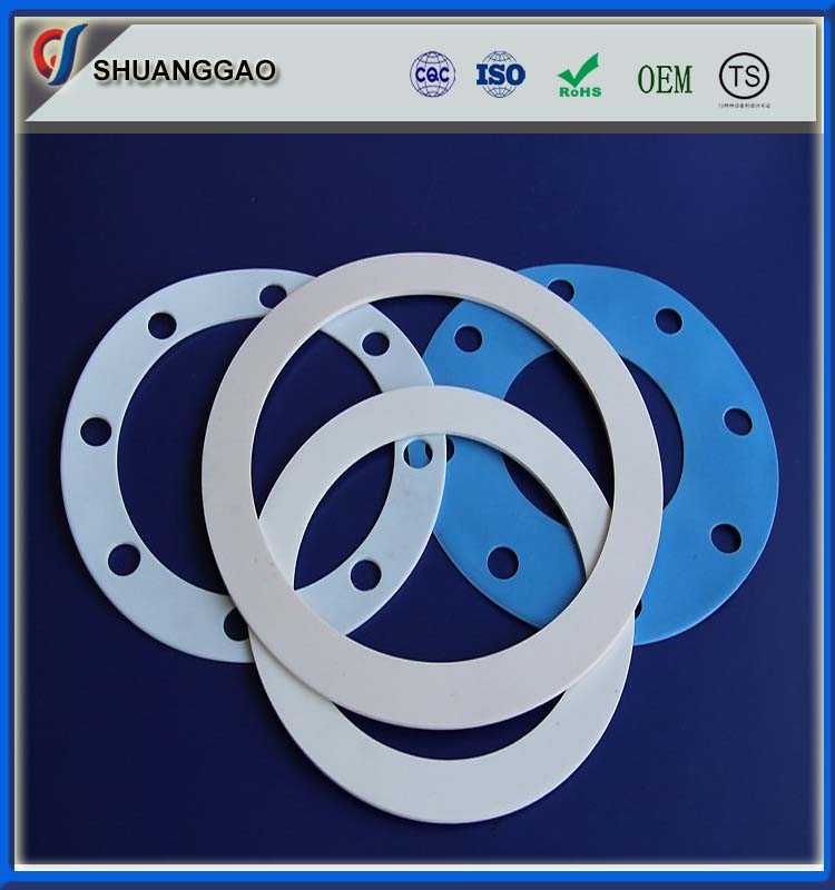 Plastic products enhanced ptfe gasket seal ring