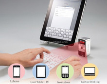 Fashional Bluetooth Wireless Laser Projection QWERTY Keyboard + Mouse + Speaker + Keyboard Sound device for Touch-typing