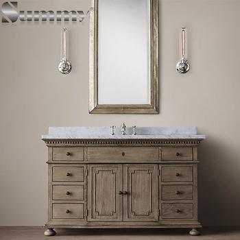 Inch Floor Mounted Waterproof Hotel Used Bathroom Vanity - Bathroom vanities floor mounted