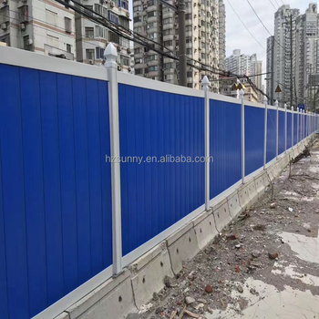 Pvc Construction Hoarding Fence Buy Construction