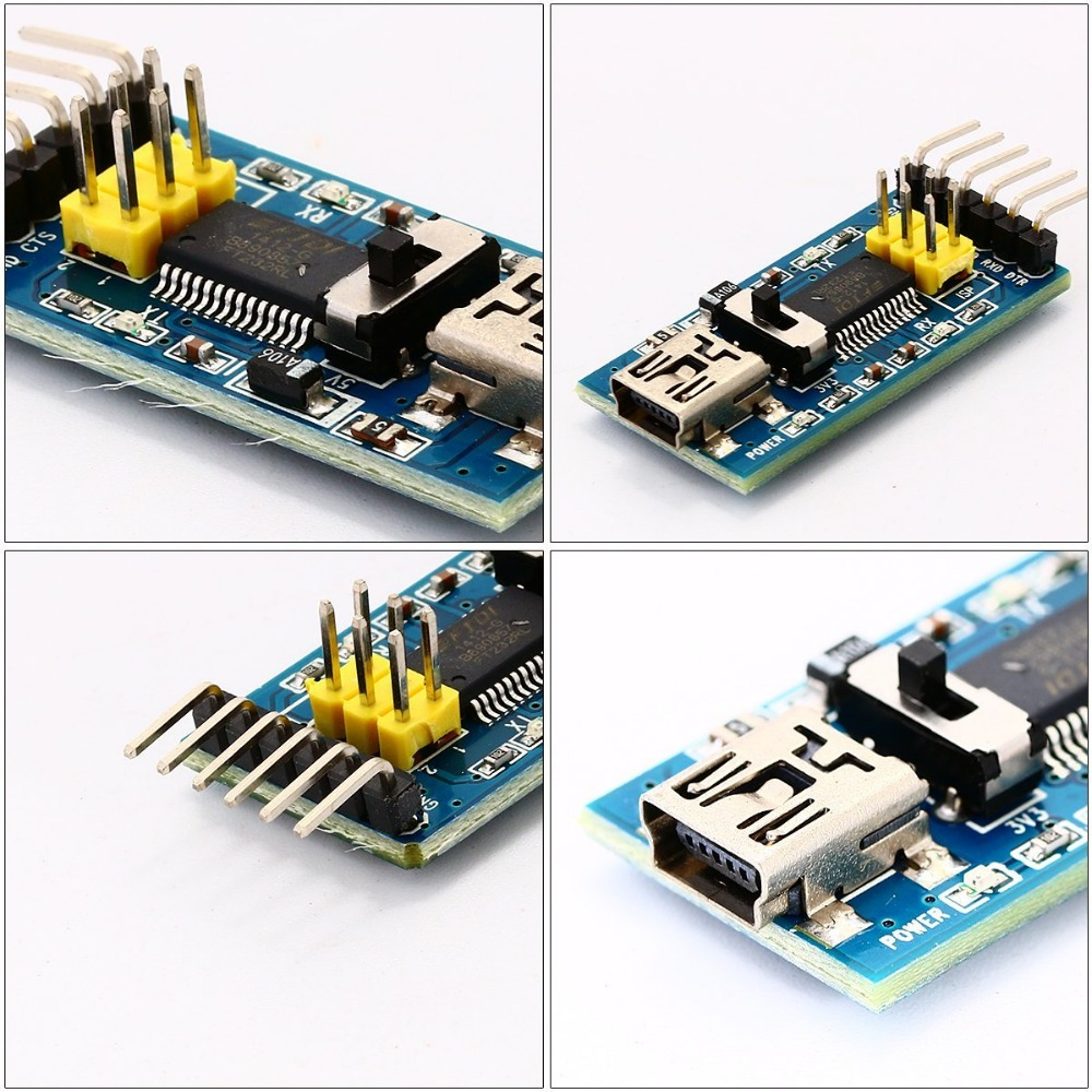 FT232RL FTDI USB 3.3V/5.5V to TTL Serial Adapter Module forarduin Mini Port.Buy a good quality