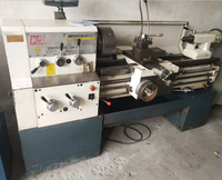 Second hand horizontal lathe machine tool cheap price for sale