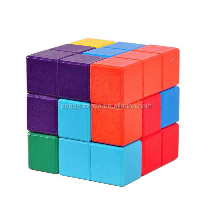Magic Cubes Colorful Snake Magic Cube Blocks Puzzle 3d Iq Puzzle Magic Ruler Education Intelligence Toys For Chilidren Kids Evident Effect
