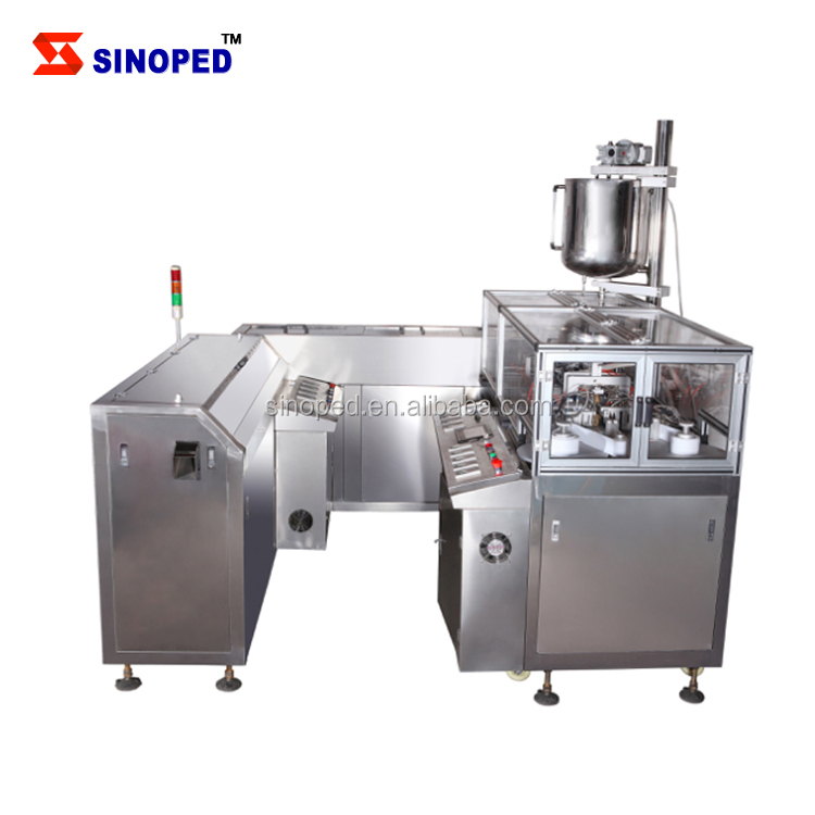 SINOPED Automatic suppository filling and sealing machine