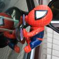 Spider Man Kids Toys Climbing Spiderman Window Sucker for Spider Man Doll Car Home Interior Decoration