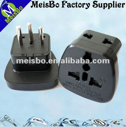Swiss CE standard mini travel adaptor in 10A