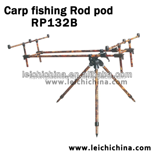 Aluminium carp fishing rod pod