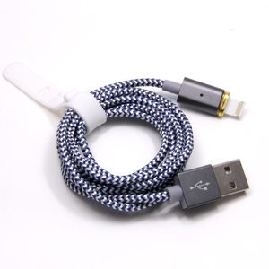 For iPhone 2.4A Fast Charging OTG Data Transfer Shenzhen Factory Braided Magnetic Charger Cable