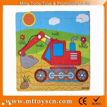 new promotional gift educational wooden cardboard for jigsaw puzzle