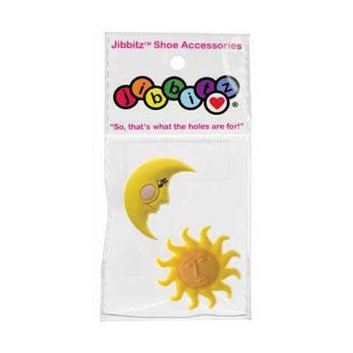 Jibbitz Crocs Charms Sun And Moon Set (Yellow)