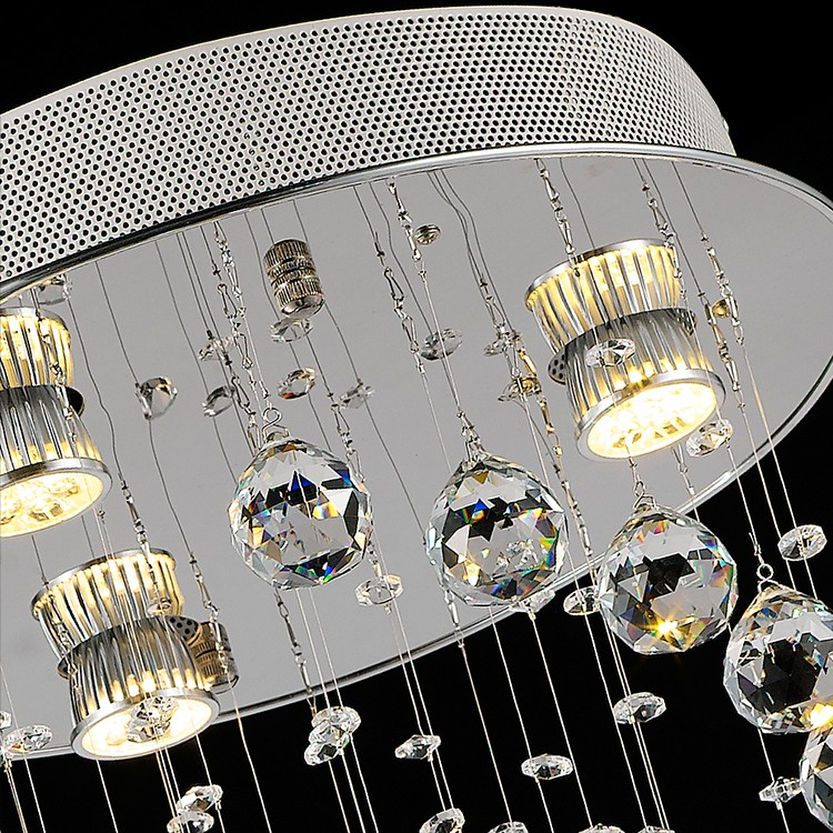 Lamparas modernas led modern led lighting modern led crystal chandelier OM88544W