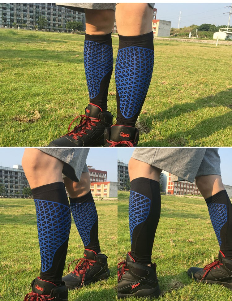 Professional fitness compression brace calf slim socks sleeves support