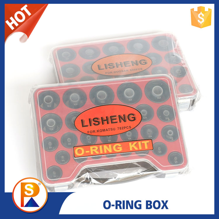 Long Service Life Excavator Rubber O-Ring Assortment Kit