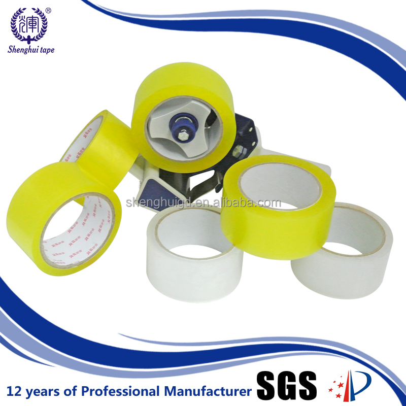 Clear/Transparent/Color OEM BOPP Film and Water Based Acrylic Adhesive Tape