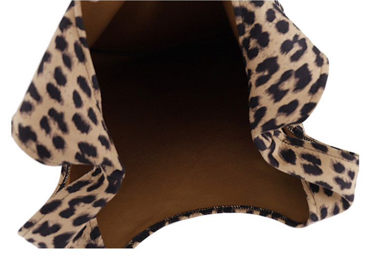 Wholesale Fairmont Leopard Print Shopper Woman Handbag