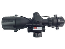 2.5-10X40E red laser tactical hunting riflescope