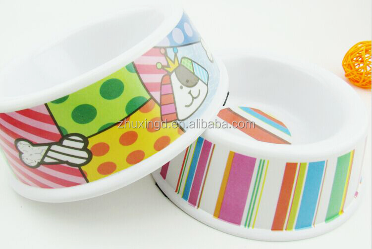 Cheap melamine dog bowls, pet melamine bowls, innovative pet accessories