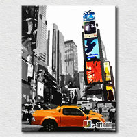 Reproduction city wall pictures pop art