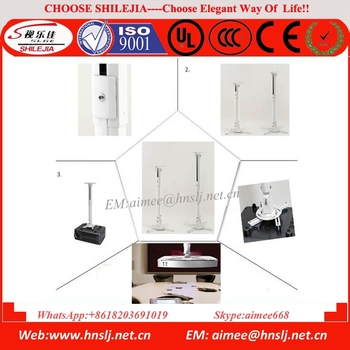 Good Quality Fixing Projector Ceiling Mounts Universal Retractable  Projector Ceiling Mount For LCD And DLP Video