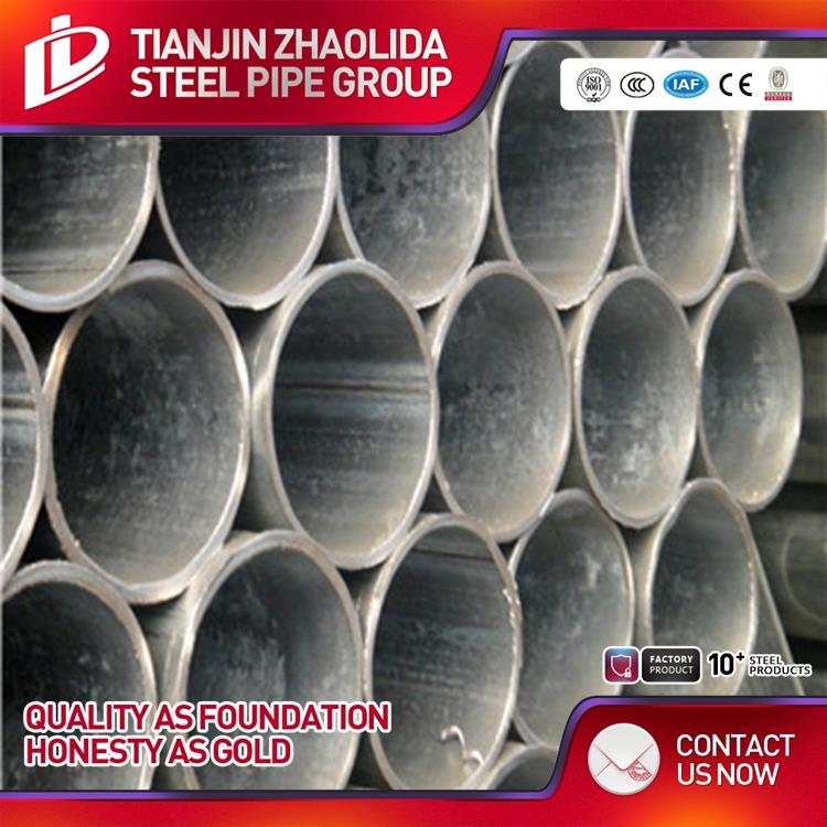 Q235 supreme quality gi steel pipe use in construction best service