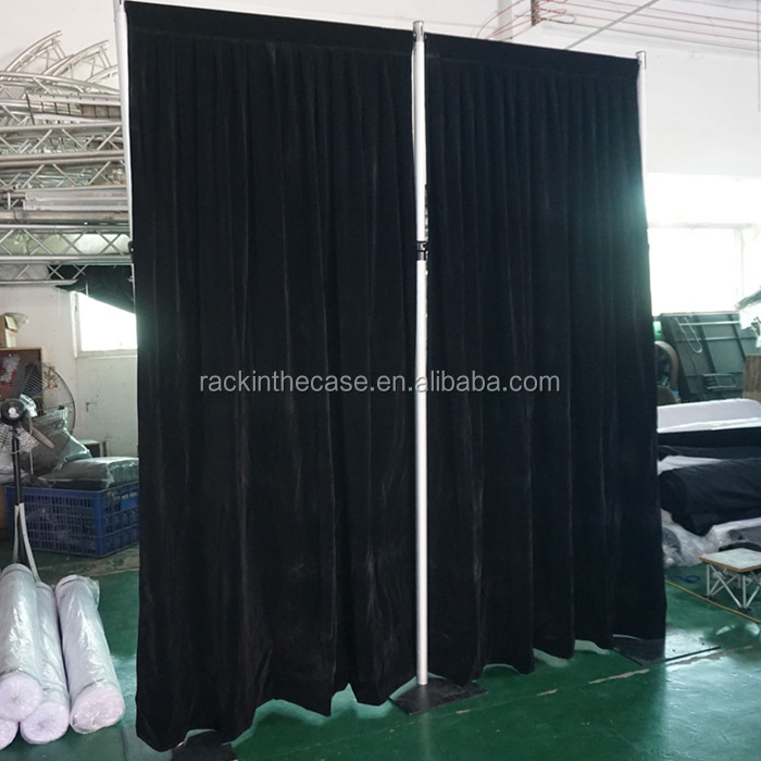 RK wedding ceiling drape fabric/wedding backdrop decoration/pipe and drape
