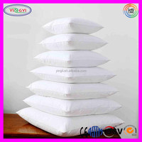 E862 White 80% Duck Feather and 20% Duck Down Decorative Throw Pillow Feather Cushion Insert