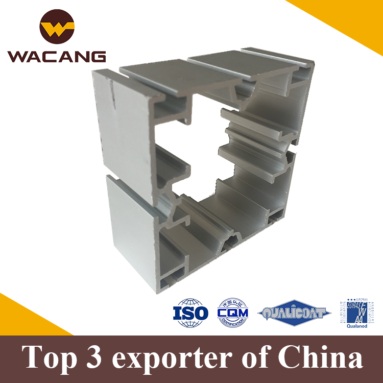 China 6063 garde aluminum profile extrusion for exhibition shelves