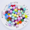 30 colors for your choice and Other Loose Beads Material and Colour silicone teething beads wholesale
