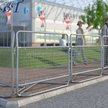 Crowd Control Barriers/event Steel Traffic Security Barrier/pedestrian  Portable Barricades - Buy Crowd Control Barriers,Event Steel Traffic  Security
