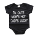 Funny Printed Words New Born Baby Clothes