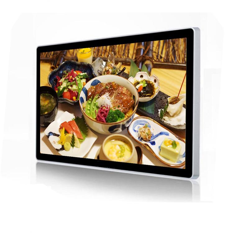 超薄型安価な広告プレーヤー 32 インチ android デスクトップオールインワンタッチスクリーンコンピュータ pc