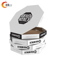 Custom paper high quality pizza carton boxes
