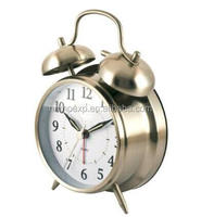 Quartz Analog Twin Bell Alarm Clock