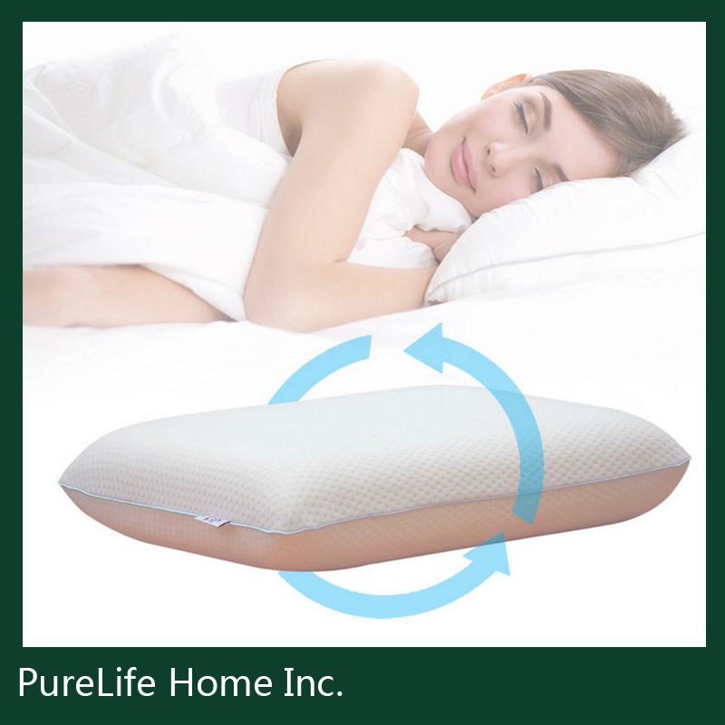 SZPLH Safe and soft velvet travel memory/bamboo foam pillow